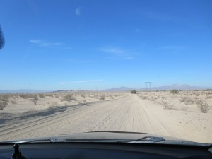 The road to Ironwood