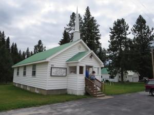 Swan Lake Baptist Church, Swant Lake, Montana